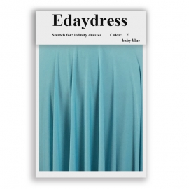 Fabric swatch for infinity dresses infinity bridesmaid dresses for ties and bows color e baby blue